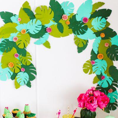 DIY Tropical Garland