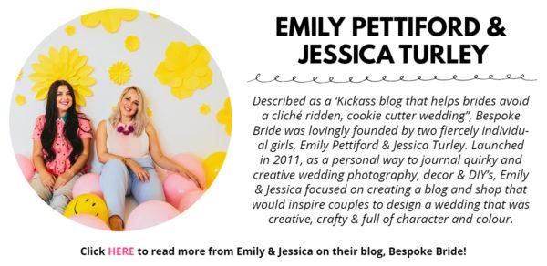 Bespoke Bride for Studio DIY