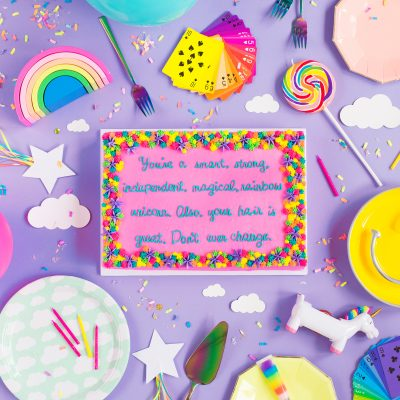 How To Write On Cakes (+ DIY Compliment Cakes)