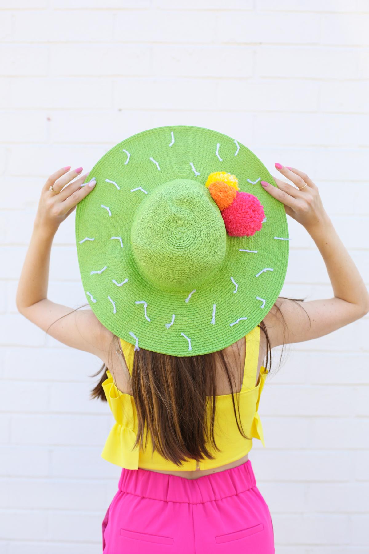 Diy Cactus Floppy Hat Studio Diy