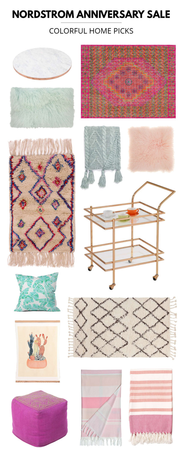 Nordstrom Anniversary Sale Colorful Home Picks