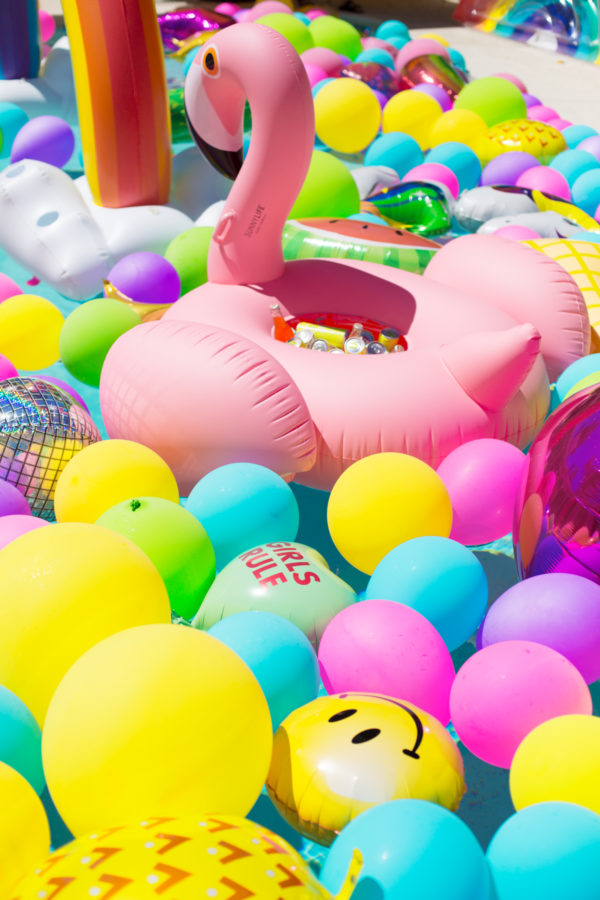 Epic Balloon Pool Party!