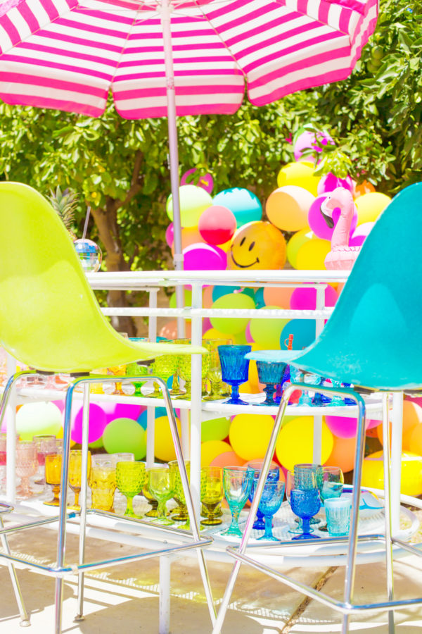 Rainbow Balloon Bar