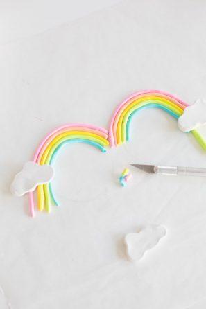 DIY Clay Rainbow Sunglasses