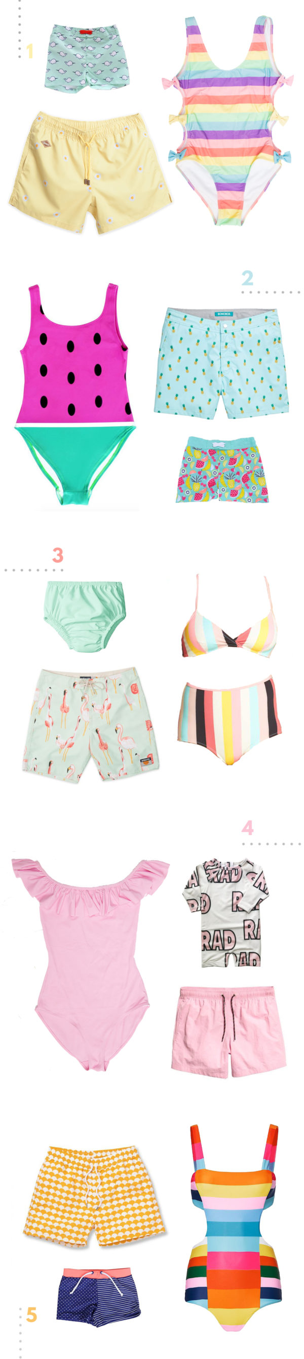 Fave Swimsuits for the Family!