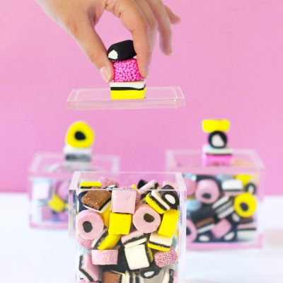 DIY Allsorts Candy Boxes
