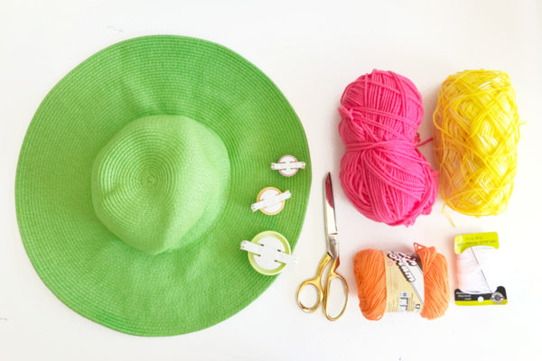DIY Cactus Floppy Hat