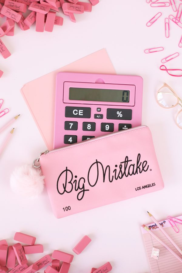 Big Mistake Eraser Clutch