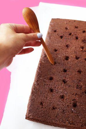 DIY Marble Notebook Cake