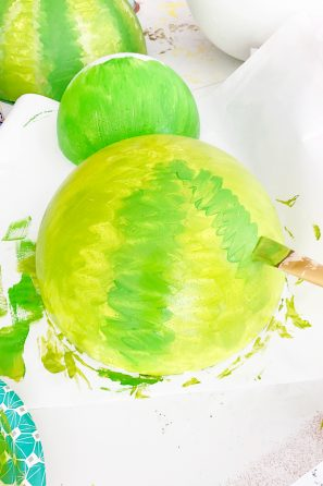 DIY Giant Foam Fruit