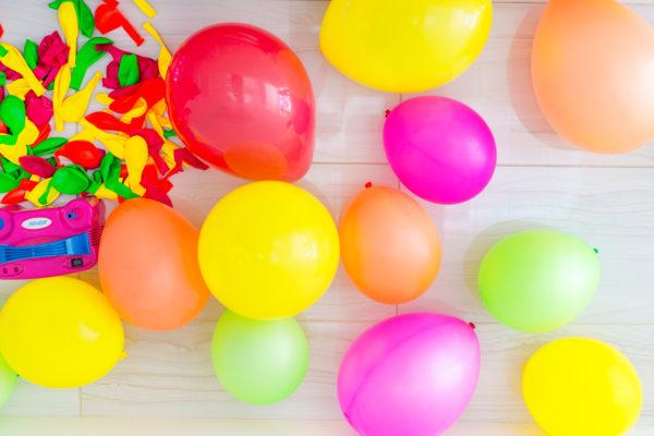 DIY Fruit Balloon Garland