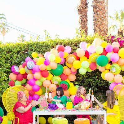A Feelin' Fruity Garden Party!