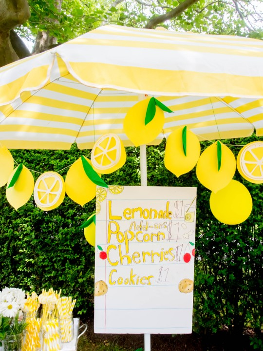The Cutest Lemonade Stand Printables (+ A Giveaway with Darcy Miller!)
