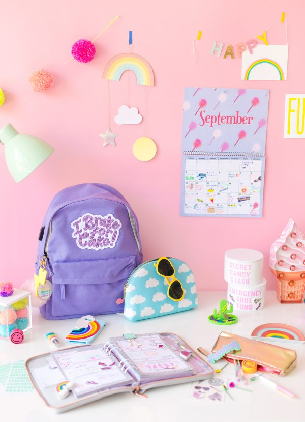 Colorful Desk for Back to School