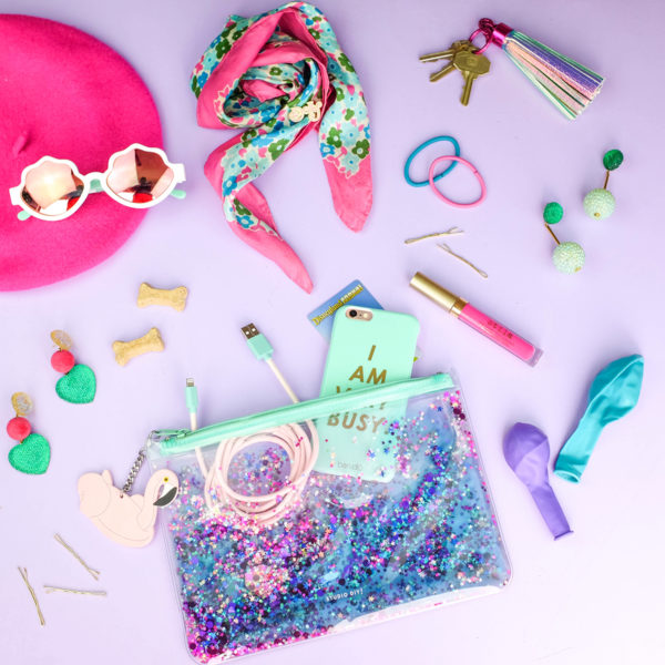 What's In My Clutch: Hot Pink Pineapples
