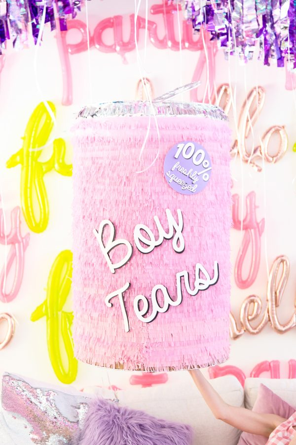 DIY Boy Tears Piñata