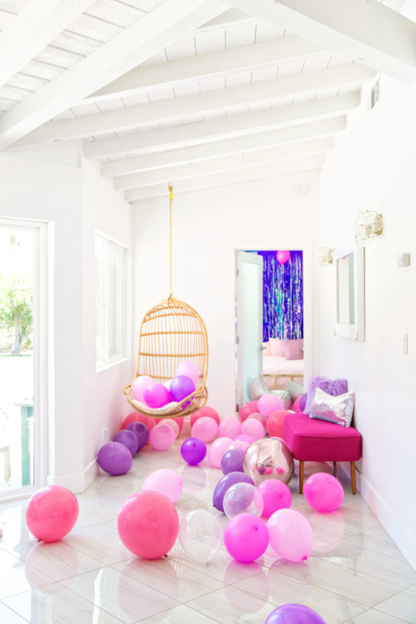 Balloon Slumber Party