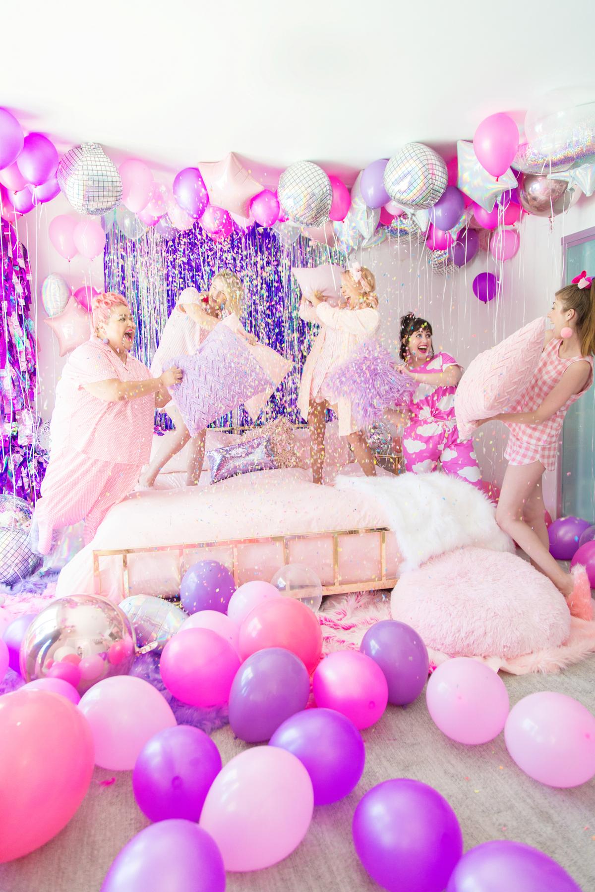 Confetti Pillow Fight Studio Diy