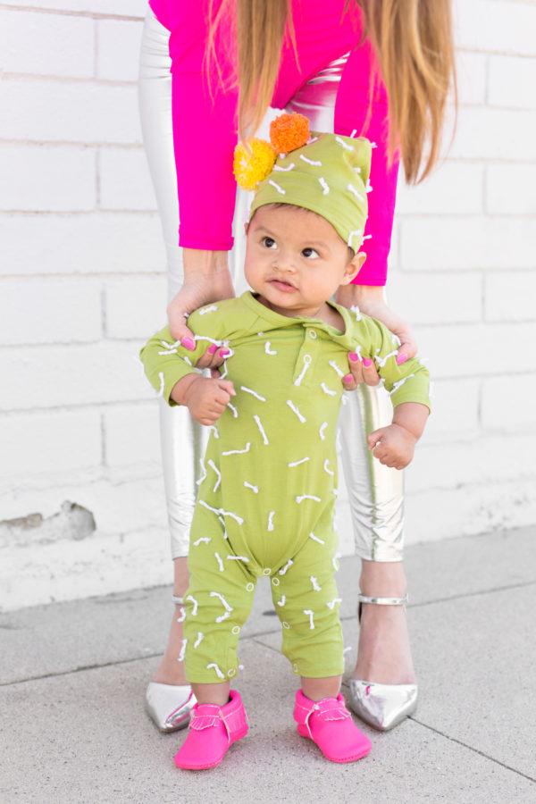 DIY Cactus Baby Costume