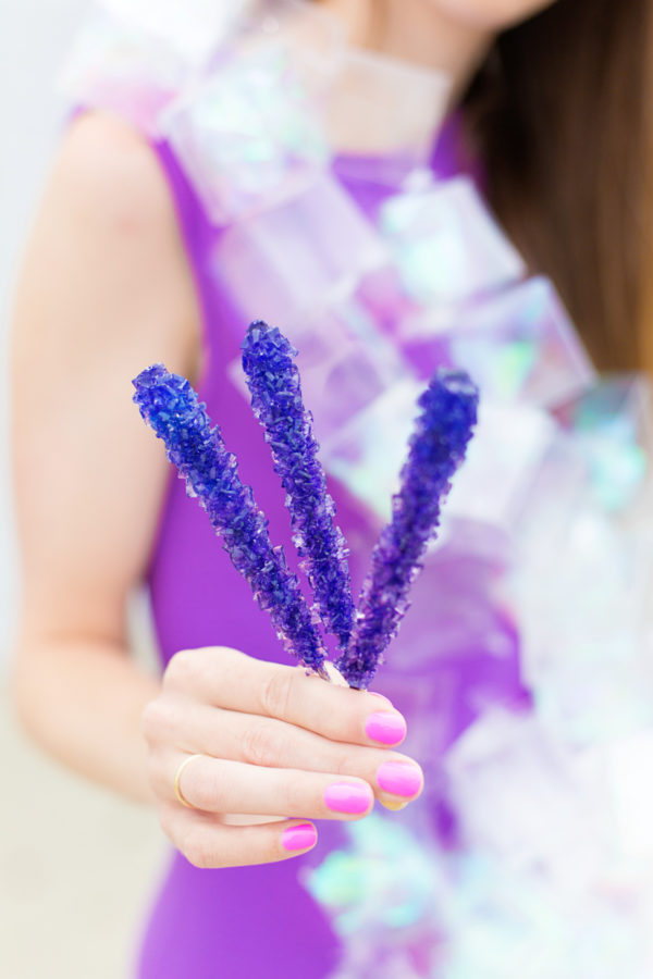 DIY Rock Candy Costume