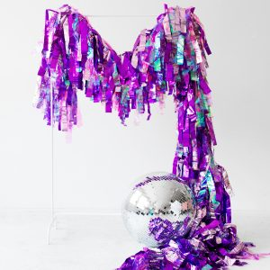 DIY Mylar Party Streamers