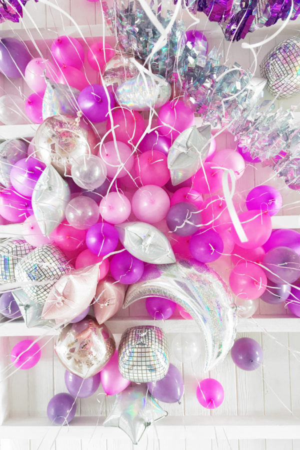 Slumber Party Balloon Ceiling