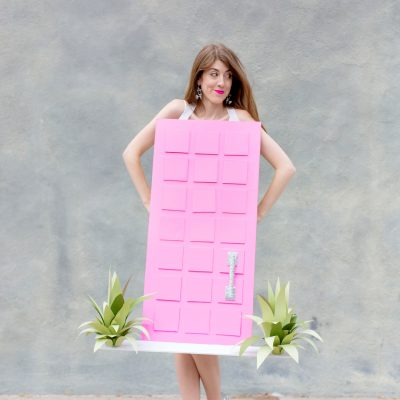 "DIY ""That Pink Door"" Costume"