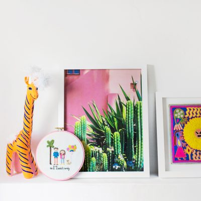 Colorful Kid-Friendly Art for Arlo's Nursery!