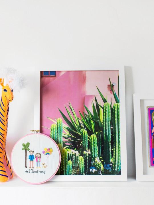 Colorful Kid-Friendly Art for Arlo's Nursery!