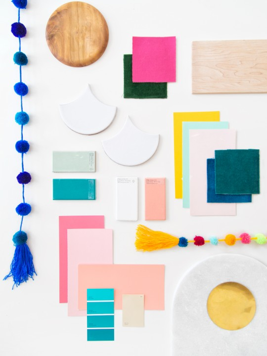 The Mindwelling: Our Color Palette + Mood Board