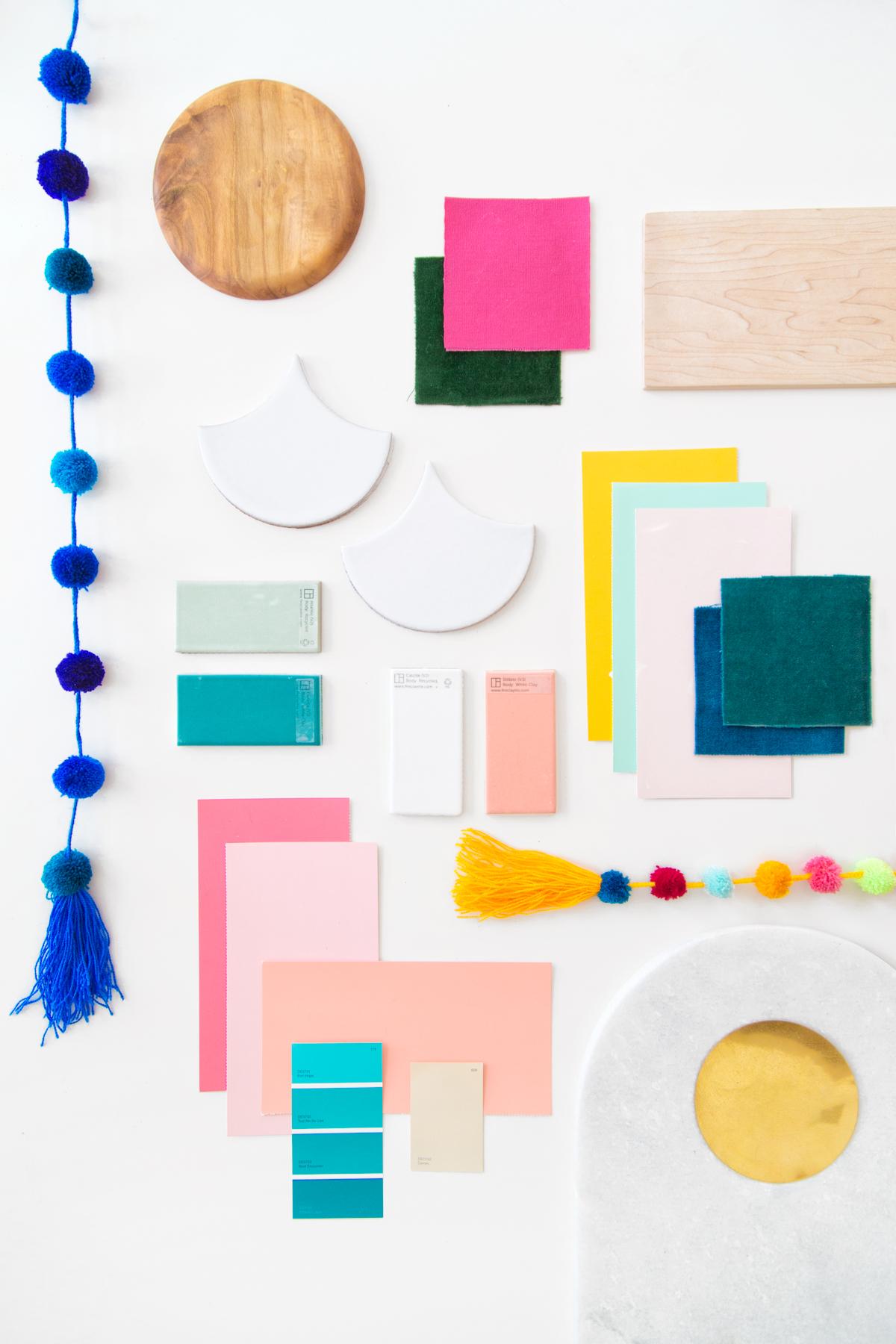 The Mindwelling Our Color Palette Mood Board Studio Diy