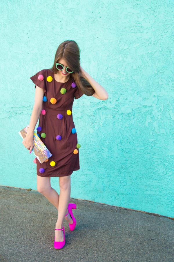 DIY Cosmic Brownie Costume