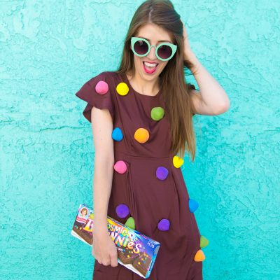 DIY Cosmic Brownie Costume