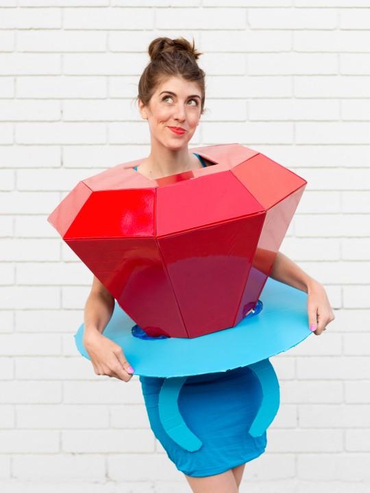 DIY Ring Pop Costume