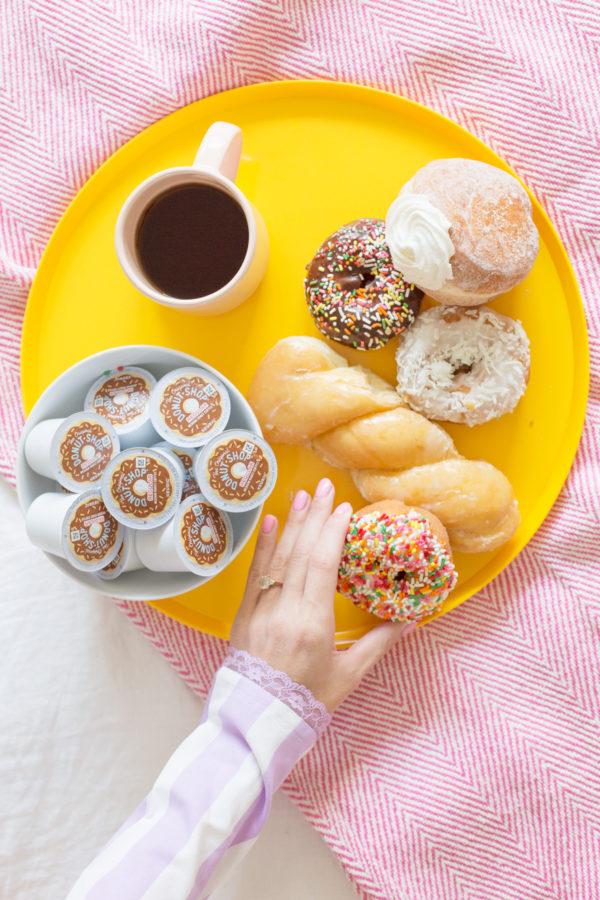 DIY Donut Button PJs