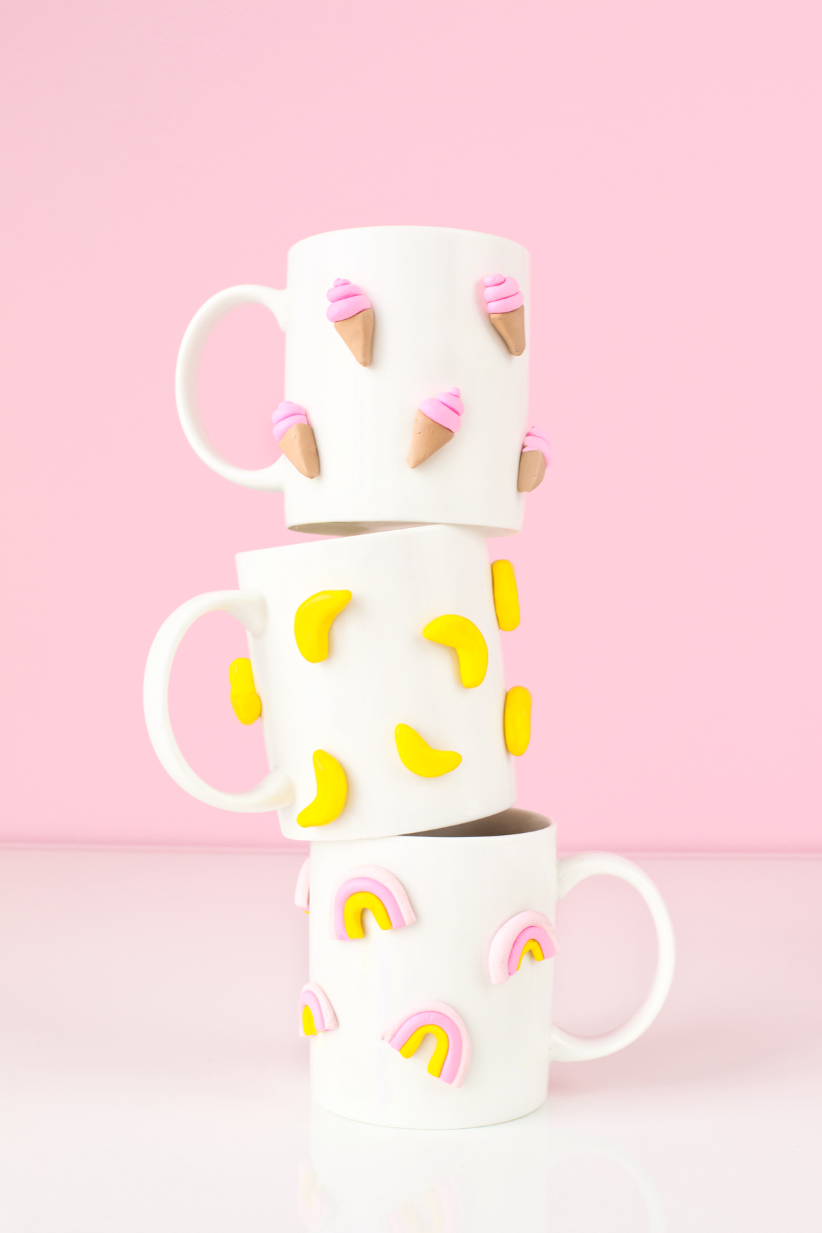 Diy 3d Graphic Clay Mugs Studio Diy