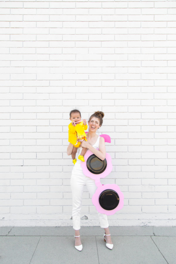 DIY Sun and Sunglasses Mommy & Me Costume