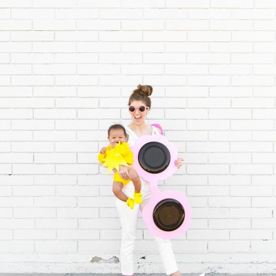 DIY Sunglasses + Baby Sun Costume
