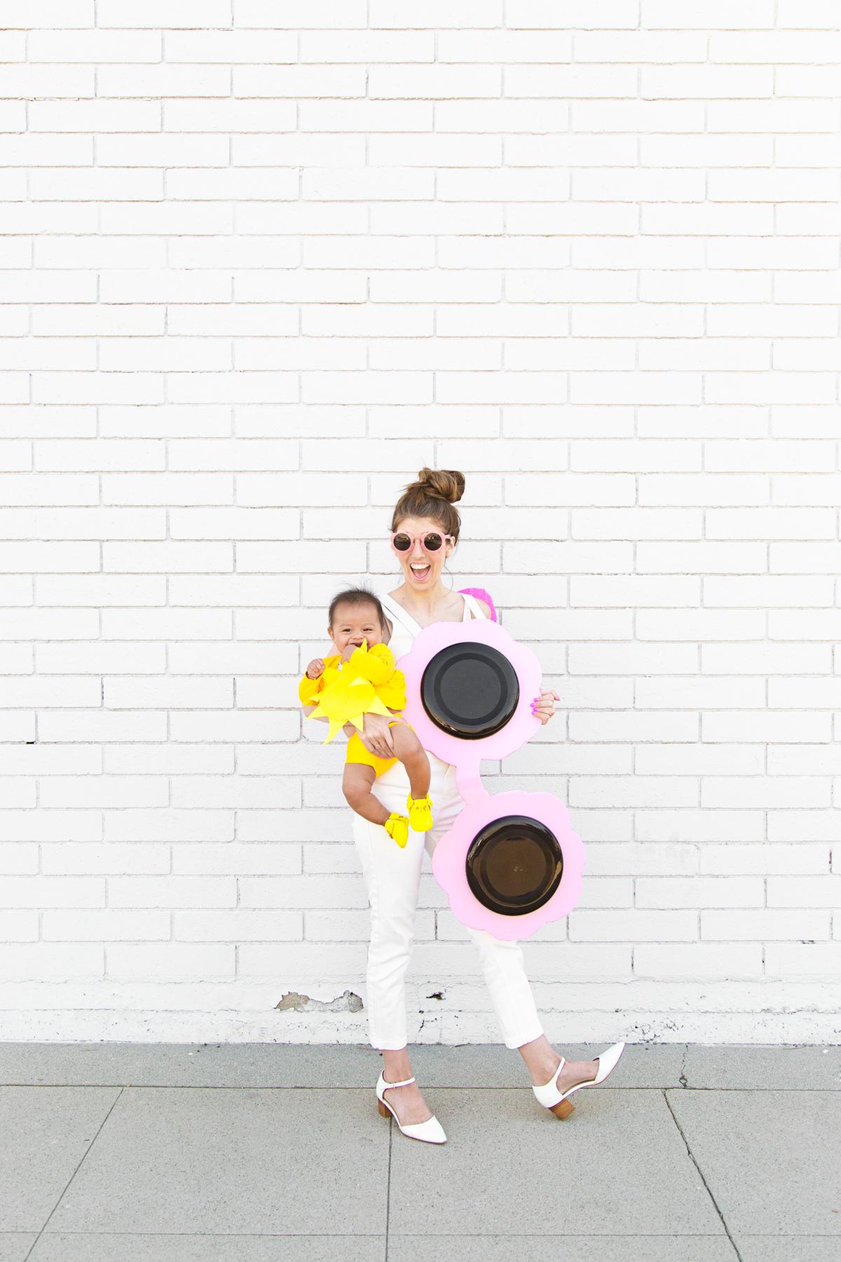 DIY Sunglasses + Baby Sun Costume