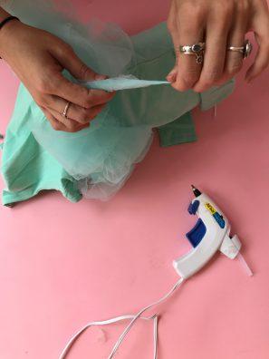 DIY Baby Loofah Costume
