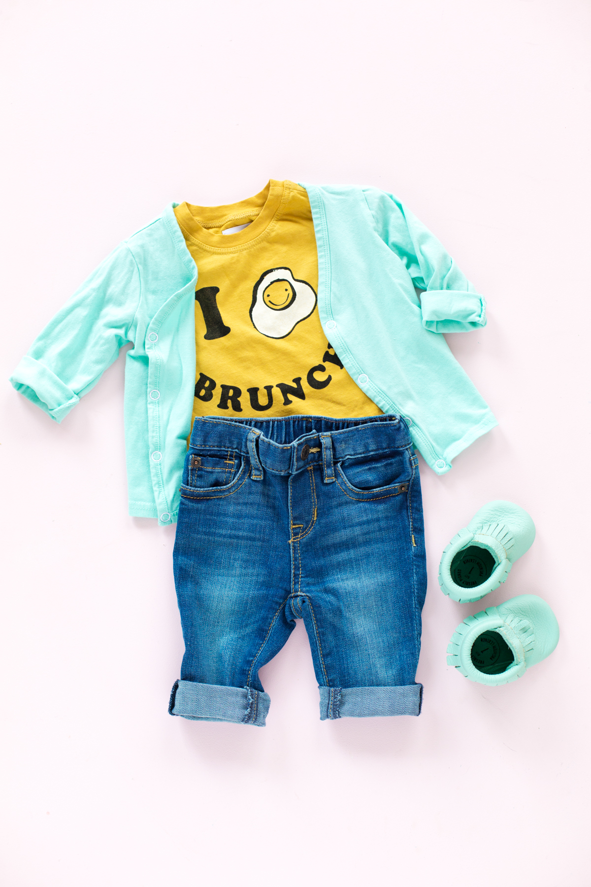 My Favorite Sources for Colorful Baby Clothes Studio DIY