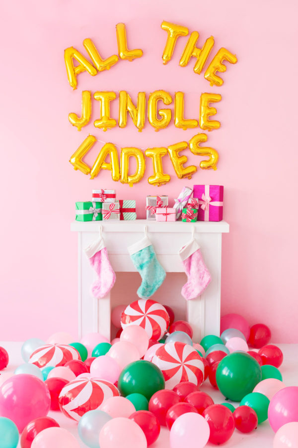 All The Jingle Ladies Balloons