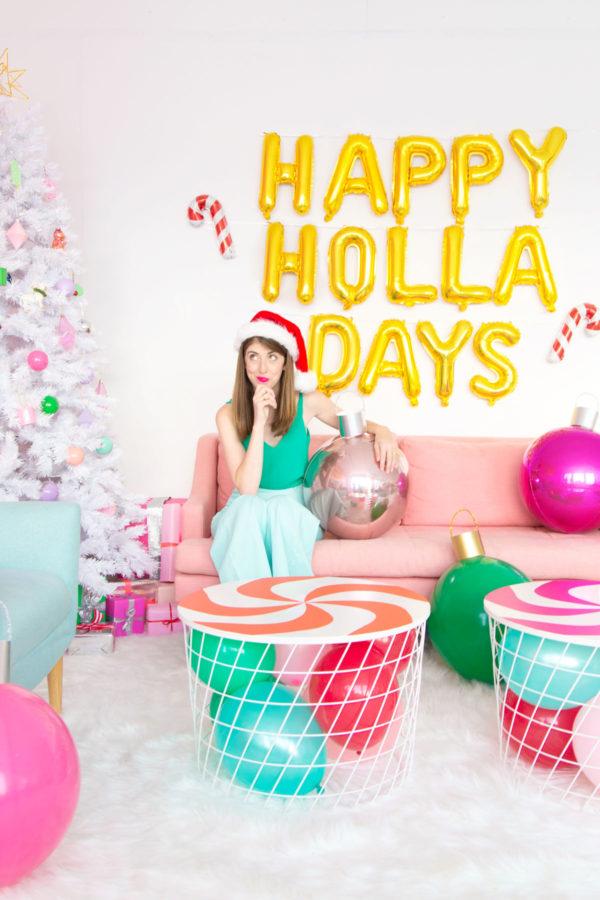 Happy Holla Days Balloons