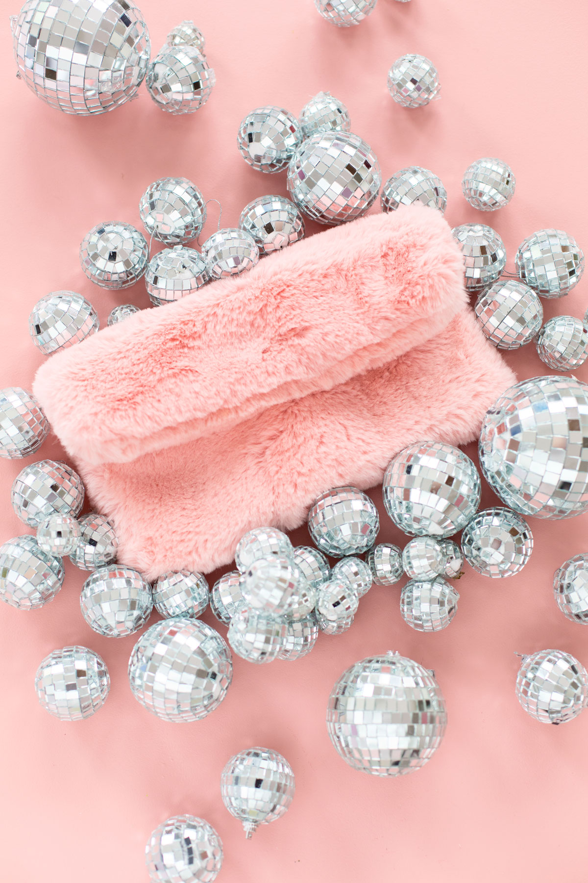 Image result for pink faux fur clutch can't clutch this