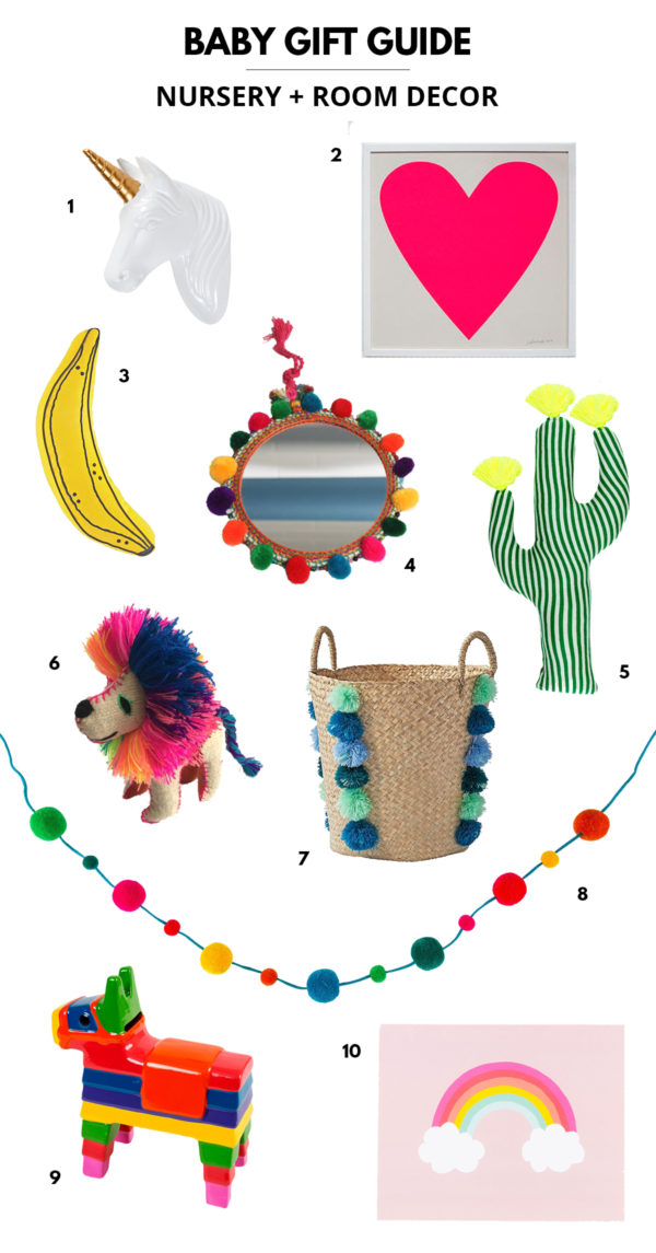 Baby Gift Guide: Room Decor