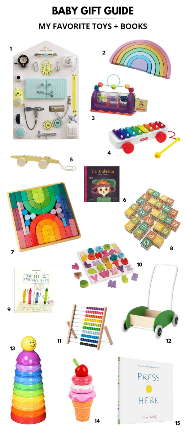 Baby Gift Guide | My Favorite Baby Toys and Books