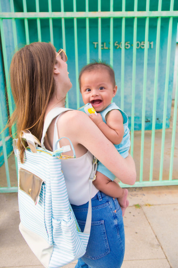What's In My Travel Diaper Bag