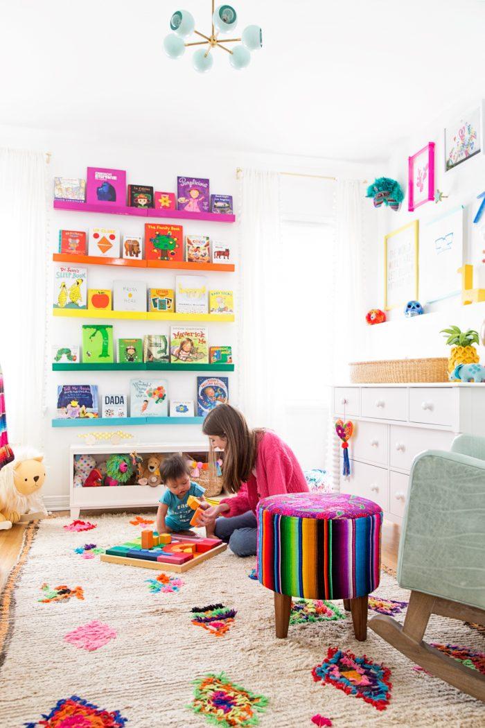 Arlo's Rainbow Nursery Reveal