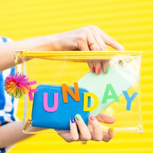 Can't Clutch This Reveal: Funday Clutch
