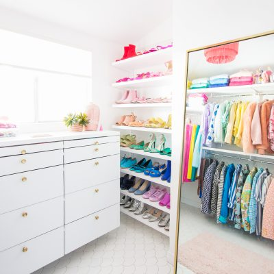 The Ten Organization Tips that Saved My Closet